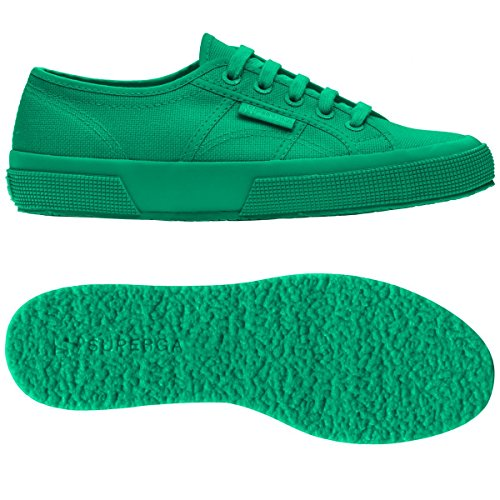 Superga 2750-COTU CLASSIC TOTAL INTENSE GREEN