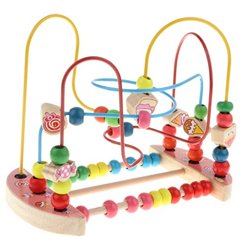 Used, SM SunniMix Classic Candy Bead Maze - Wooden Educational for sale  Delivered anywhere in Canada