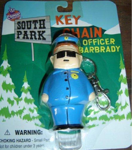 (South Park Officer Barbrady Key Chain )