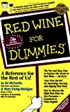 img - for Red Wine For Dummies book / textbook / text book