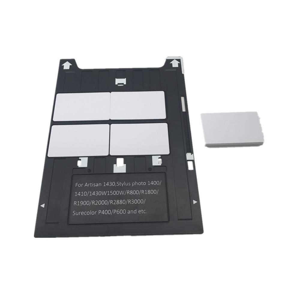 PVC tarjeta pritning bandeja para impresoras Epson A3 1400,1430 ...