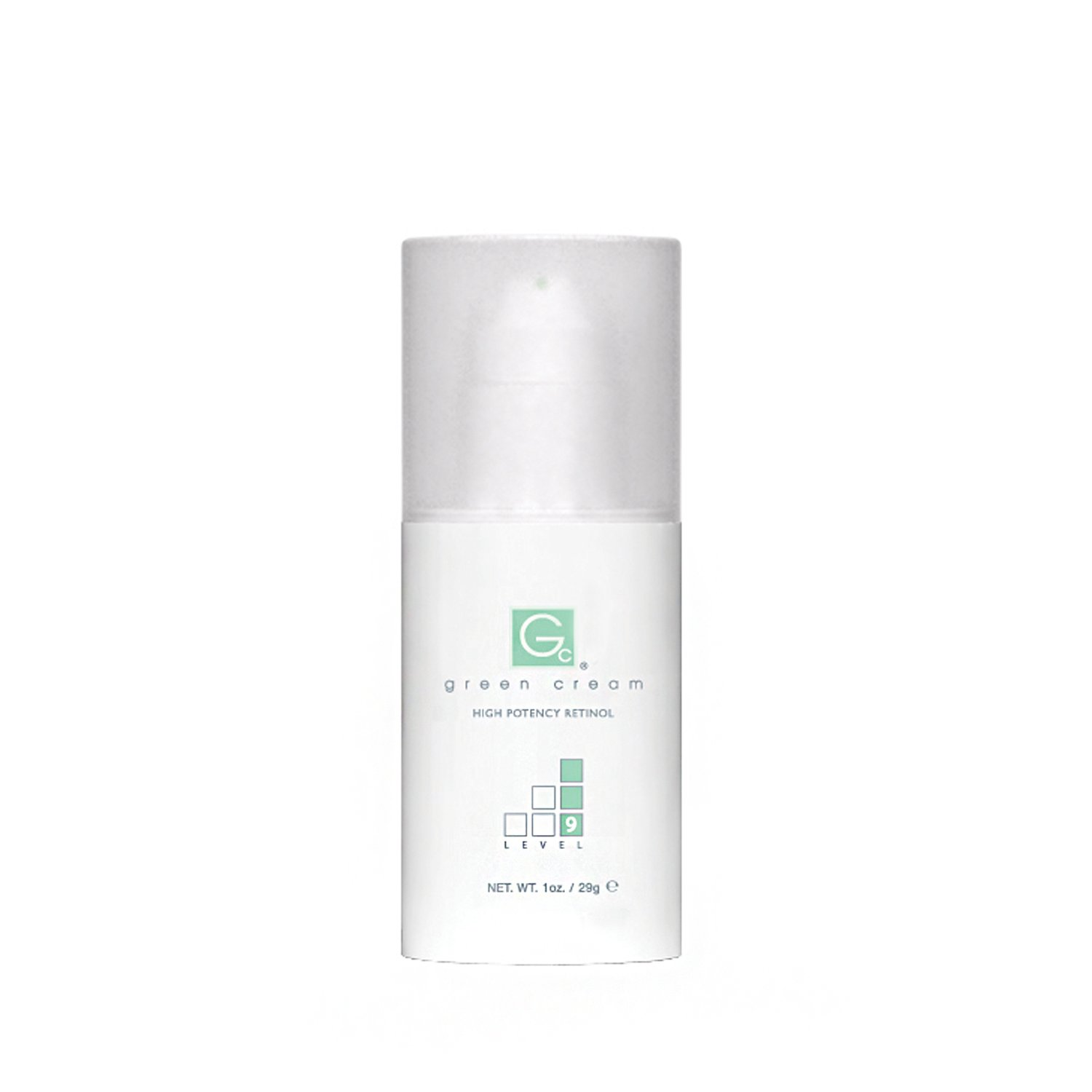 Green Cream   High Potency Retinol   Level 9   1oz. Airless Pump by Advanced Skin Technology