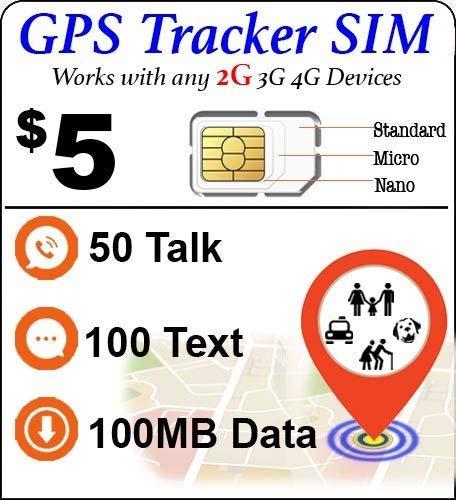 Amazon.com: Tarjeta SIM con rastreador GPS, para mascotas y ...