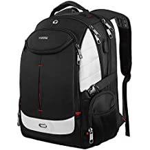 Extra Large Backpack,TSA Friendly Travel Laptop Backpack for Men&Women,Water Resistant Big Business College School Computer Bookbag with USB Charging Port/Headphones Hole,Fits Most 17-Inch Notebooks