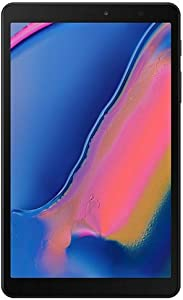 "Samsung Galaxy Tab A 8.0"" with S Pen (2019) 32GB, 4200mAh Battery, 4G LTE Tablet & Phone (Makes Calls) GSM Unlocked SM-P205, International Model (Wi-Fi + Cellular, Black)"