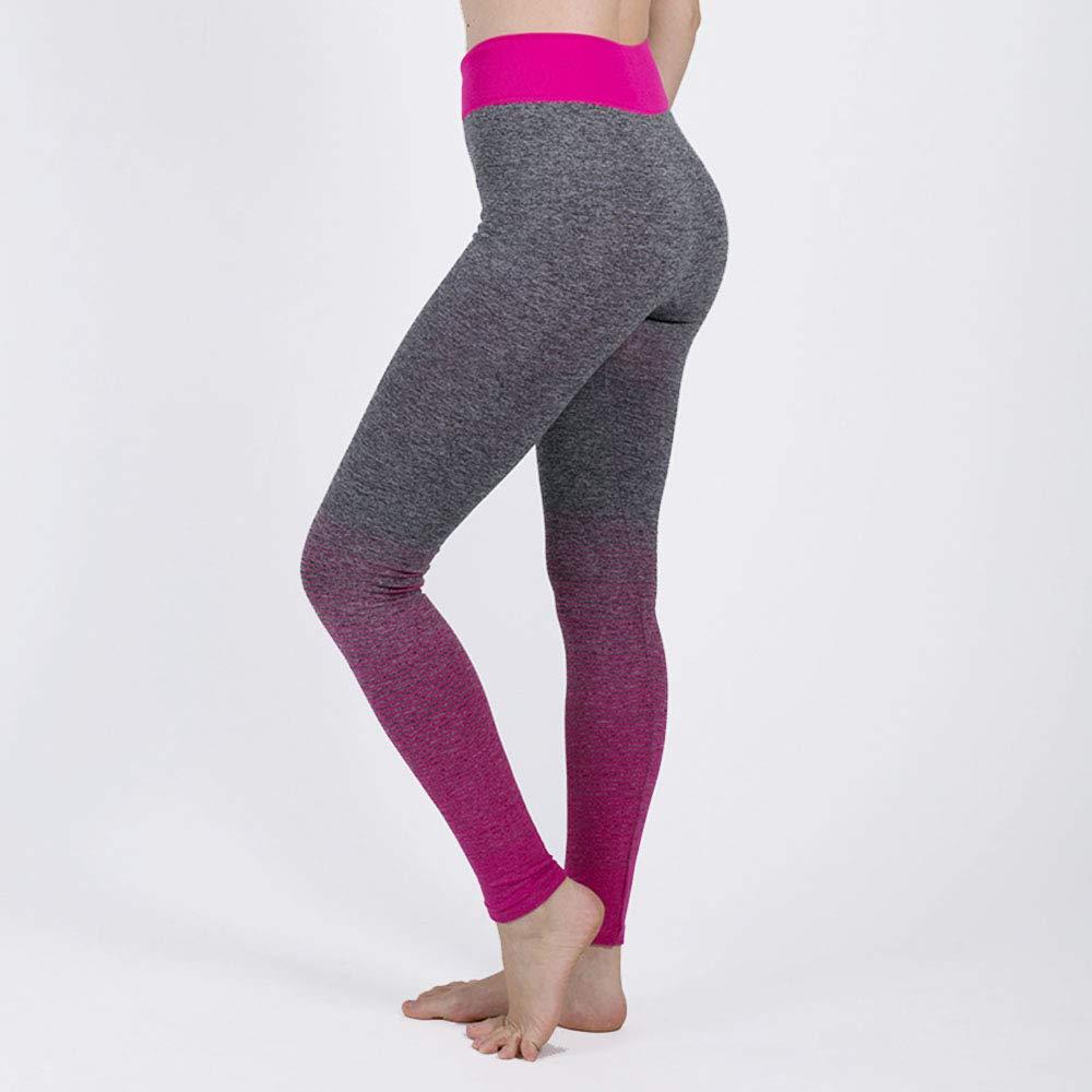 Wuxingqing Pantalones de Yoga para Mujeres Caderas ...
