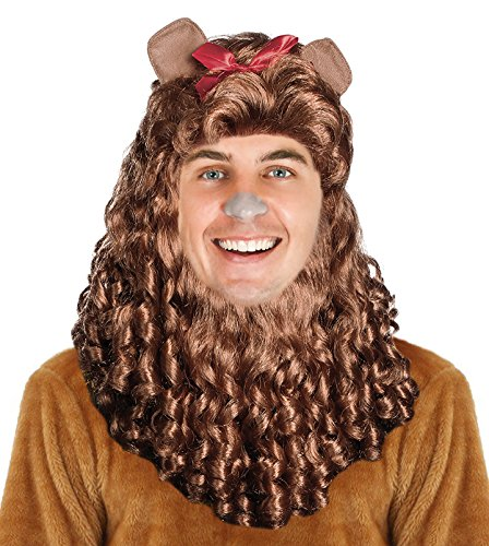 Cowardly Lion Wig (LION COSTUME WIG Cowardly Costume Lion Mane Cowardly Wig Simba Costume Wig)
