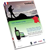 Garmin Topo France V3 Pro - Entire Country - Mapas para GPS, cobertura geográfica Francia, ActiveRouting, escala 1:25.000