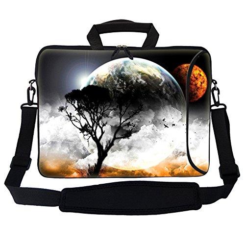 Meffort Inc 17 17.3 inch Neoprene Laptop Bag Sleeve with Ext