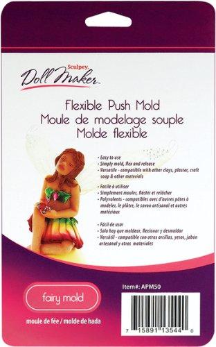 Sculpey III Doll Maker Flexible Push Mold-Fairy 1 pcs sku# 655428MA