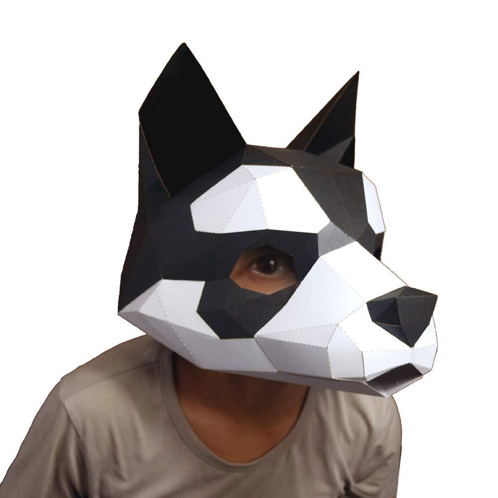 Amazon.com: Animal Clumsy 3D máscara de fiesta Halloween ...