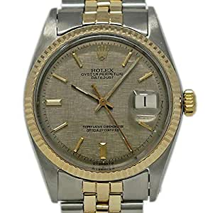 Rolex Datejust Swiss-Automatic Male Watch 1603 (Certified Pre-Owned)