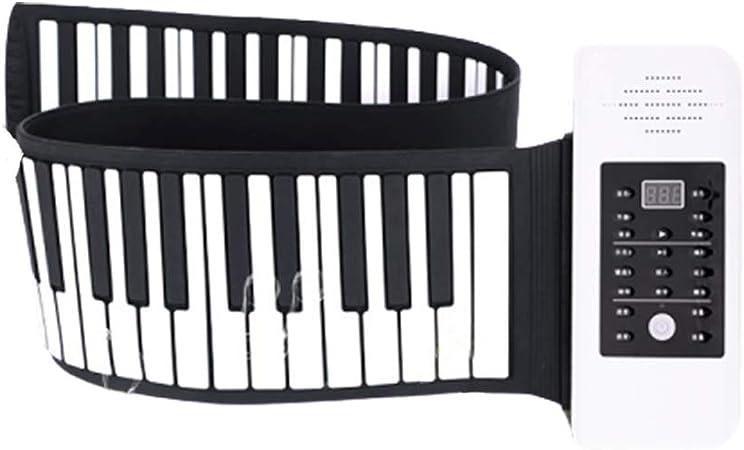 Multifuncion Roll Up Piano Fácil De Cargar para Principiantes ...