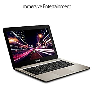 "ASUS VivoBook F441 Light and Powerful Laptop, AMD A9-9425 Dual Core Processor (Boost up to 3.7 Ghz) with Radeon R5 Graphics, 8GB DDR4 RAM, 256GB SSD, 14"" FHD display, Windows 10, F441BA-DS95"
