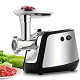 Best Electric Meat Grinders - Electric Meat Grinder, Meat Mincer with 3 Grinding Review