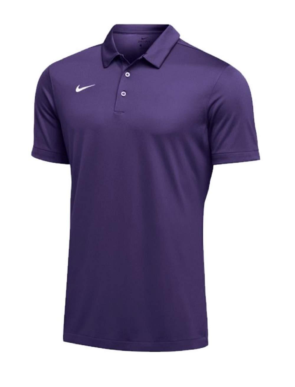 Nike Mens Dri-FIT Short Sleeve Polo Shirt (Medium, Purple) by Nike