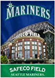 MLB Seattle Mariners Two Sided Stadium View Vertical Banner, 28 x 40-Inch