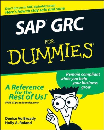 SAP GRC For Dummies Pdf