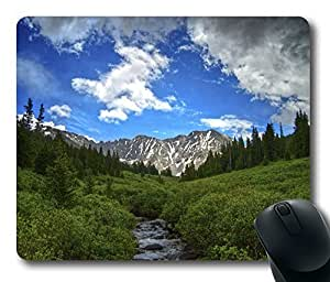 Mouse Pad Summer In The High Country Desktop Laptop Mousepads Comfortable Office Mouse Pad Mat Cute Gaming Mouse Pad
