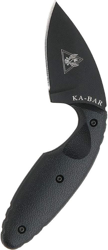 1. KA-BAR TDI Law Enforcement Straight Edge Knife