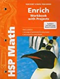 HSP Math Enrich Workbook with Projects Grade 5, HARCOURT SCHOOL PUBLISHERS, 0153567767