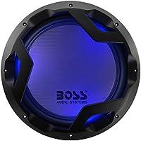 BOSS Audio PD12LED 1600 Watt, 12 Inch, Dual 4 Ohm Voice Coil Car Subwoofer