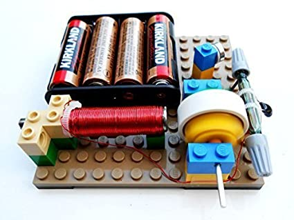 Amazon.com: Simple Electric Reed Switch Motor Kit #14 - DIY Science ...