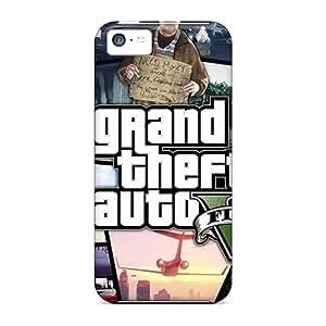 Slim New Design Hard Case For Iphone 5c Case Cover - JZT1797wCWV