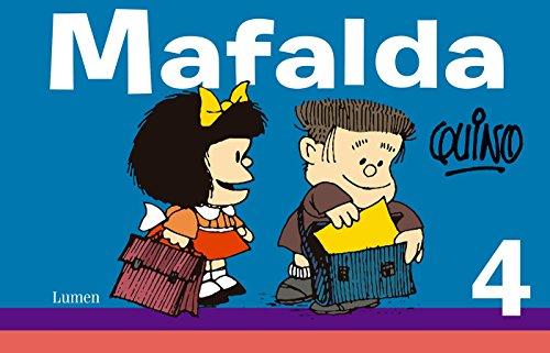 Mafalda 4 (Spanish Edition) [QUINO] (Tapa Blanda)
