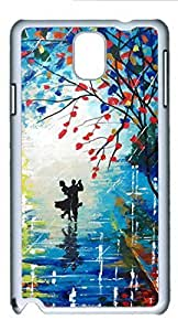 Beautiful Dancing DIY Hard Shell White Best Fashion Samsung Galaxy Note 3 N9000 Case