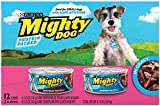 Purina Mighty Dog in Gravy Wet Dog Food Variety Pack – (2 Packs of 12) 5.5 oz. Cans For Sale