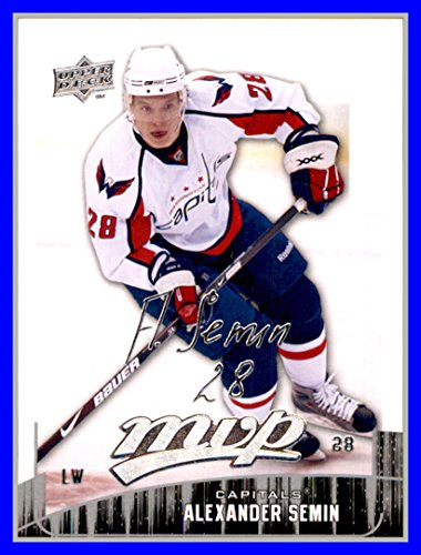 2009-10 Upper Deck MVP #3 Alexander Semin WASHINGTON CAPITALS Alexander Semin Washington Capitals