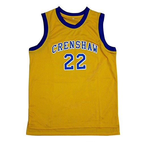 Quincy McCall 22 Yellow Basketball Jersey (XXL) ()
