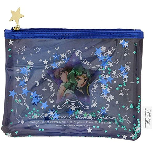 Sunstar Sailor Moon Pen Case Sailor Uranus & Sailor Neptune S1415654