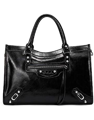 d4285b24f18 BOSTANTEN Women Designer Handbags Fashion Leather Satchel Bags Top Handle  Shoulder Bags with Adjustable Shoulder Strap
