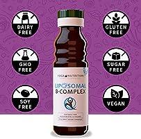 Yoga Nutrition Complejo liposomal de vitamina B, 100 ml ...