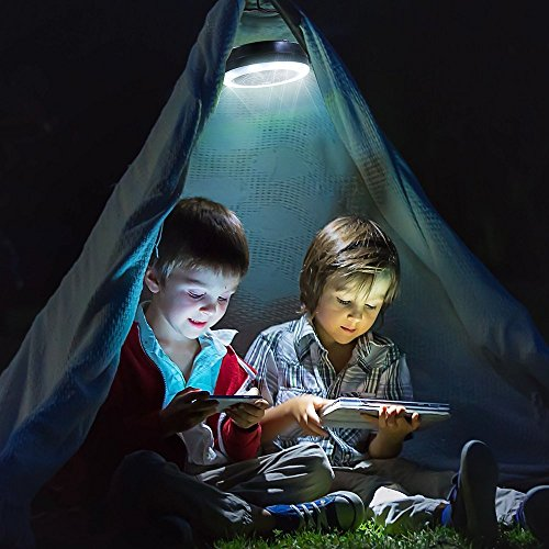 VEEAPE LED Camping Lantern, USB Rechargeable Tent Light with Ceiling Fan(2rd Generation), The One of Best Camping Gear for Emergency, Hurricane, Power Outage by VEEAPE (Image #1)