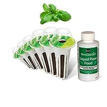 Miracle-Gro AeroGarden Pesto Basil Seed Pod Kit (6-Pod)
