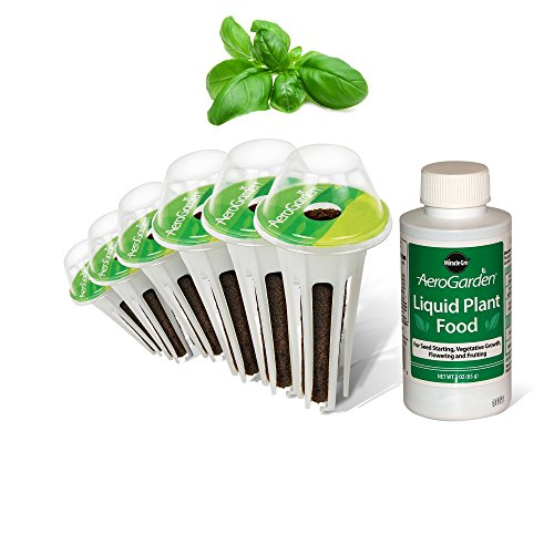AeroGarden Pesto Basil Seed Pod Kit