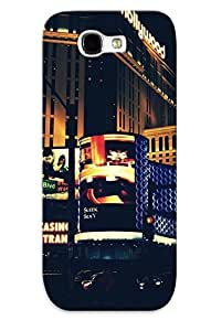 New Arrival Galaxy Note 2 Case Cityscapes Night Usa New York City City Lights Neon Lights Case Cover