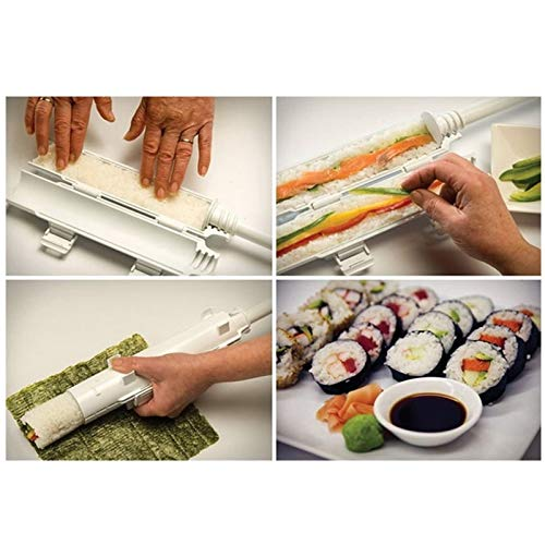 Sushi Rolls Maker Mold Making Kit Sushi Bazooka Rice Meat Vegetables DIY Making Kitchen Tools Gadgets Accessories