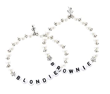 a23025d50bb9f Blondie Brownie Bracelet Kit 2 Friendship Bracelets Best Friend ...