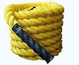 ESSKAY UTTAM Gym Exercise Rope (1.5 ' Thick / 50 Feet Exercise Rope) Battle Rope;Battle Rope