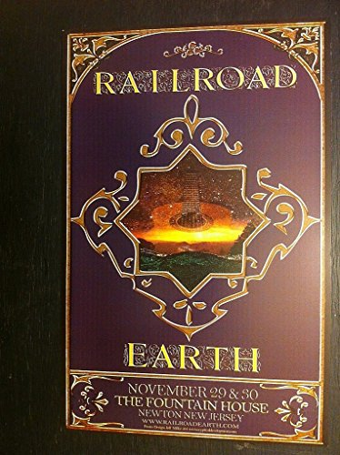 Railroad Earth Fountain House New Jersey Rare Original Jamband Concert ()