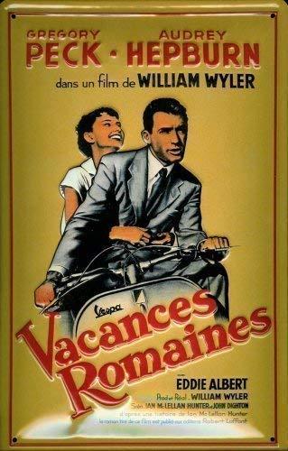 Vacances Roma Ines Gregory Peck diseño de Audrey Hepburn 20 ...
