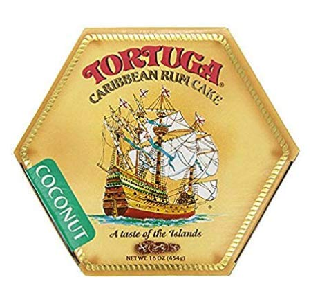 Tortuga Caribbean Coconut Rum Cake 16 Ounce Box Amazon Com