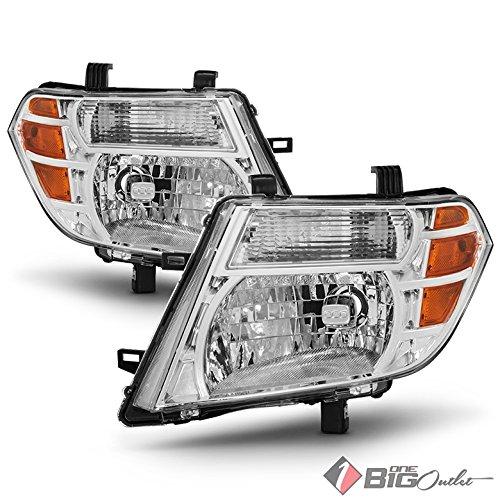 (Xtune 2008-2012 Pathfinder 4-Door Sedan Headlights Direct Fit Assembly LH+RH Pair L+R)