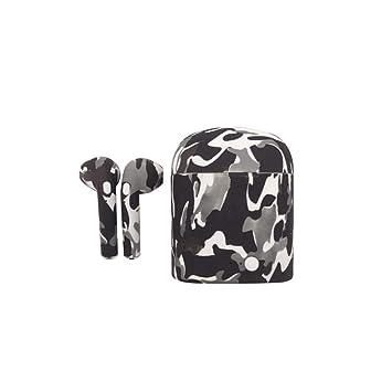 Oplon Auriculares inalámbricos Auriculares Bluetooth Deportes Anti-Sudor para Auriculares con Compartimiento de Carga Auriculares y Cargadores ...
