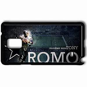 Personalized Samsung Note 4 Cell phone Case/Cover Skin 1386 dallas cowboys 0 Black