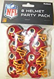 Riddell 9585533032 Washington Redskins Team Helmet Party Pack